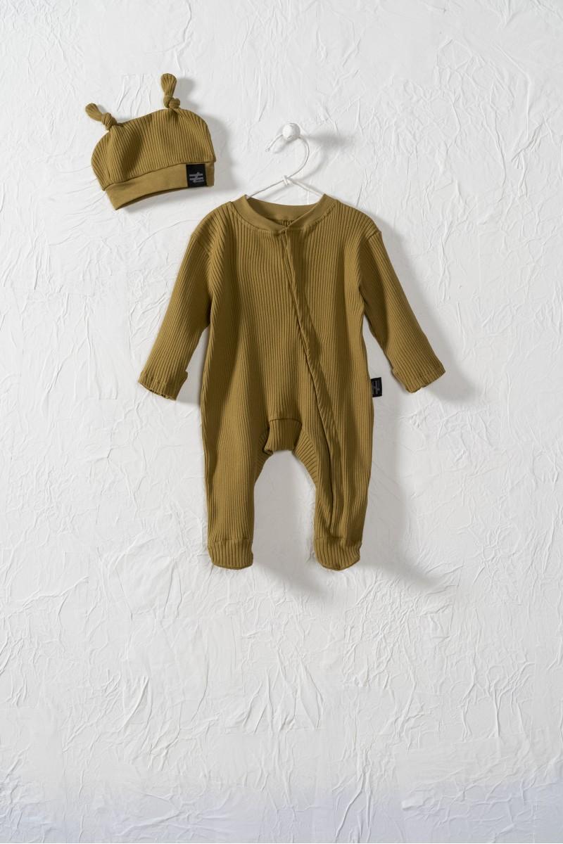 Baby dupačky s čapičkou