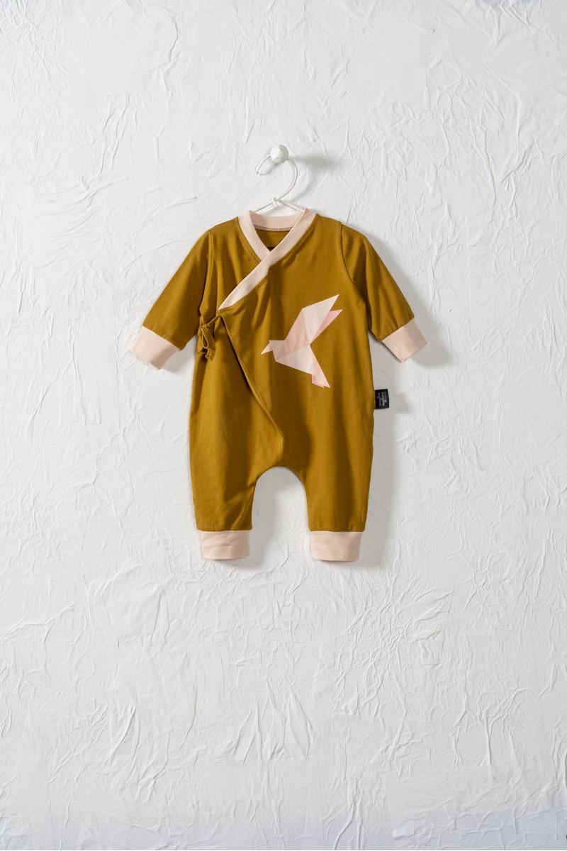 Baby  overalík s viazačkou