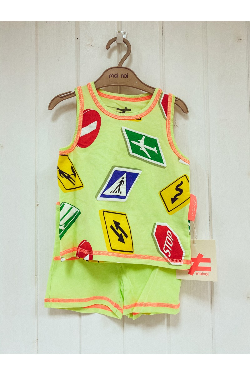 Letný neón outfit