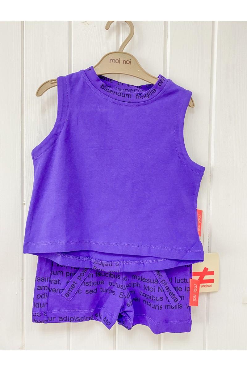 Letný šortkový outfit